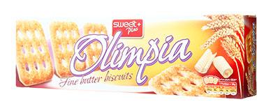 甜家系列奧利匹亞黃油餅干,單價:¥14.4元