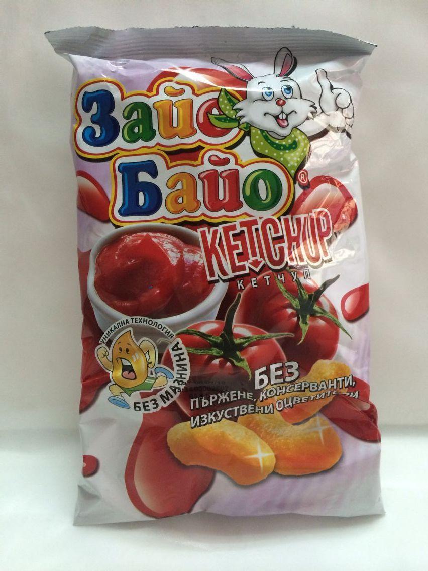 兔子番茄味玉米條,單價:¥8元