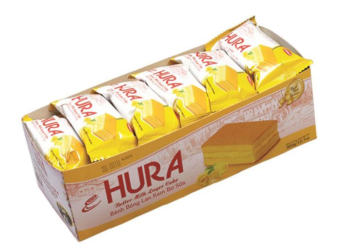 福瑞安黄油牛奶夹心味蛋糕,金额¥18.9元/盒