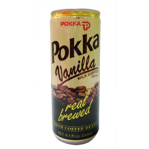 POKKA百佳香草味牛乳咖啡,金额¥7.1元/罐