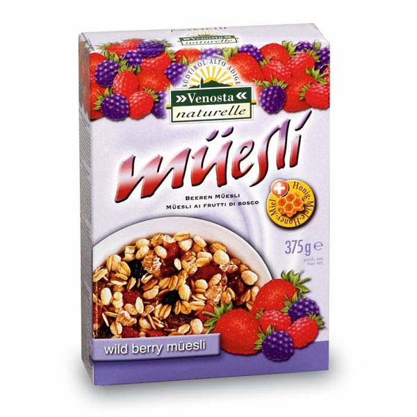 维欧特葡萄干野莓味脆麦片375g,单价¥30.6元/盒