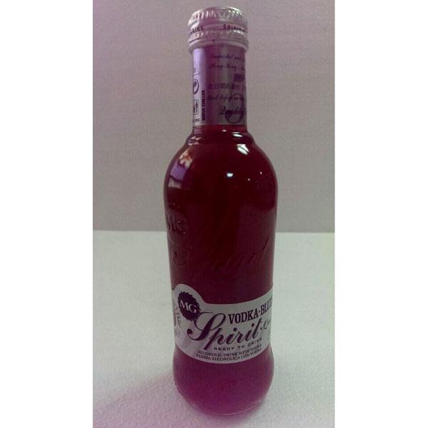 MG焰情蓝莓味道伏特加配置酒
