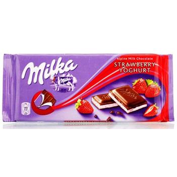 妙卡草莓味酸奶夾心巧克力,單價:¥22.5元