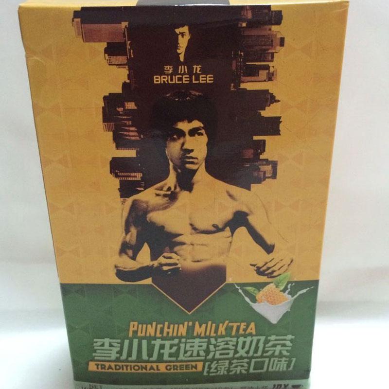 李小龍速溶奶茶(綠茶口味),單價:¥19.8元