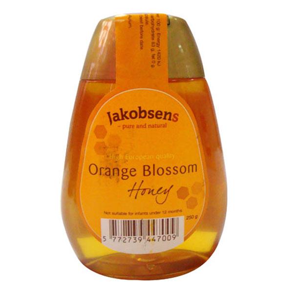 雅各布森橙花蜂蜜 250g,单价¥46.8元/瓶