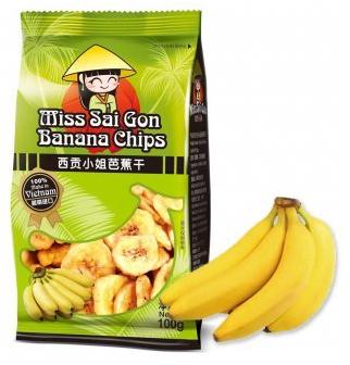 西贡小姐芭蕉干100g,单价:¥12.5元