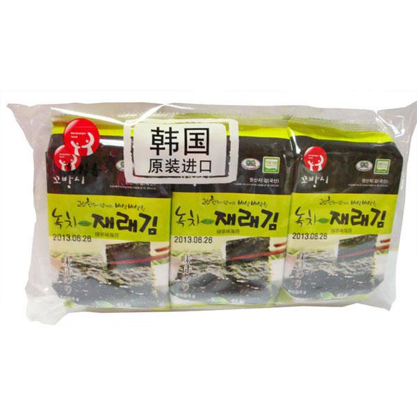 高邦喜綠茶味海苔,單價¥8.82元/包