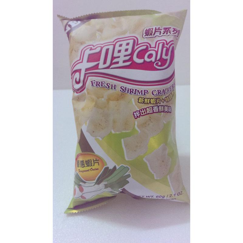 卡哩卡哩香蔥蝦片,單價¥9.5元/包
