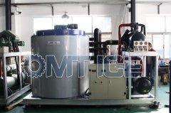 OMT 20Ton Flake Ice Machine In South America