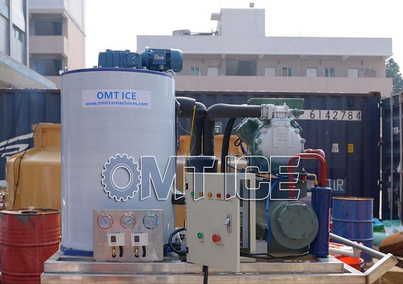 OMT 3Ton Flake Ice Machine In Suriname