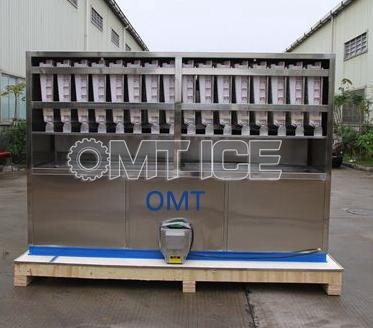OMT 4ton Cube Ice Machine to Pakistan