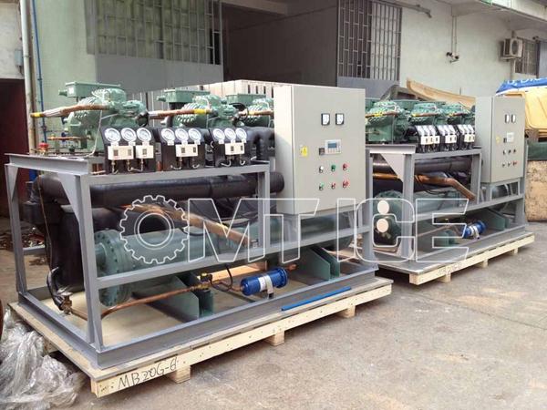 20ton Big Capacity Ice Block Machine for Yemen