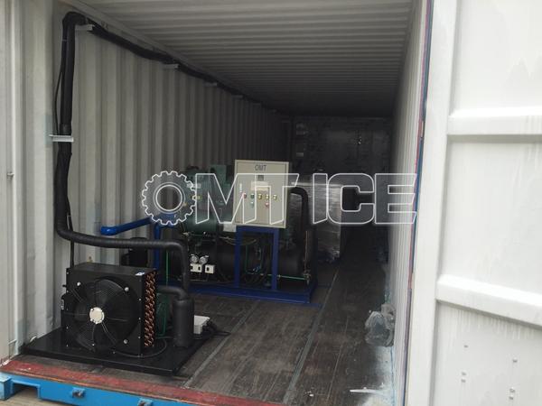 OMT Ice Block Machine to Panama