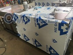 OMT 500kg Ice Block Machine for African client