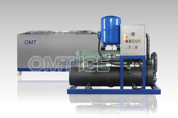 OTB20 Ice Block Machine---for 400pcs of 5kg Ice