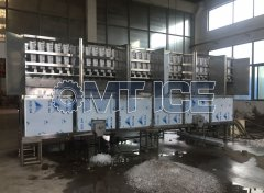OMT 10Ton Cube ice machine testing and comissioning