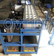 OMT 1Ton Direct Cooling Ice Block Machine is ready for dispat