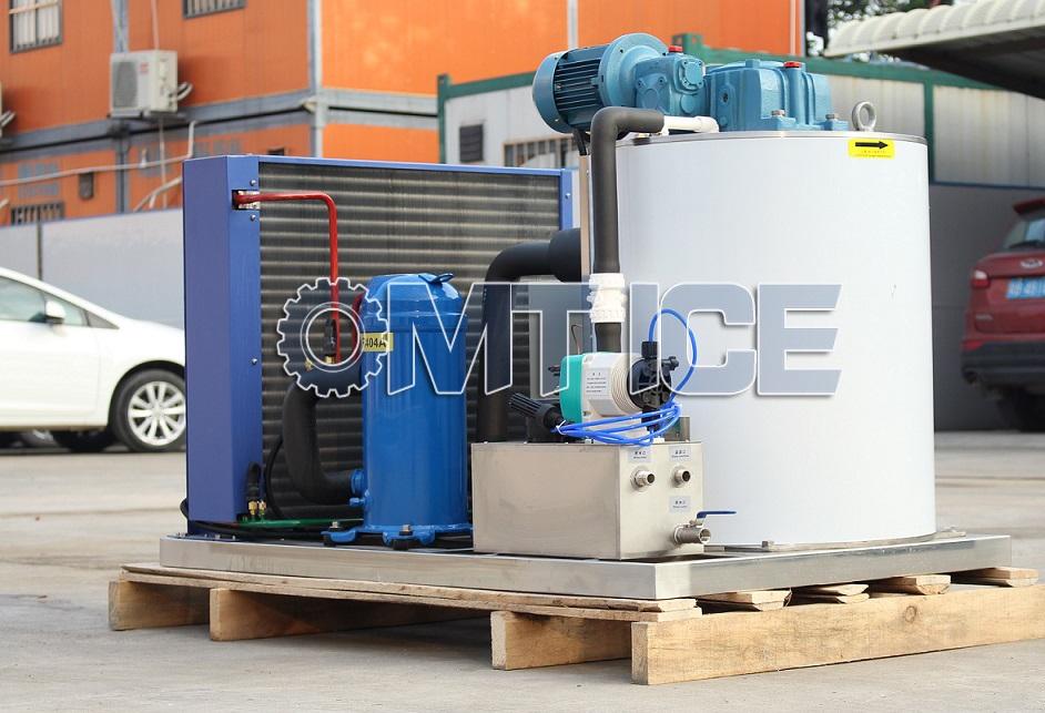 1Ton Flake Ice Machine With Daffoss Compressor